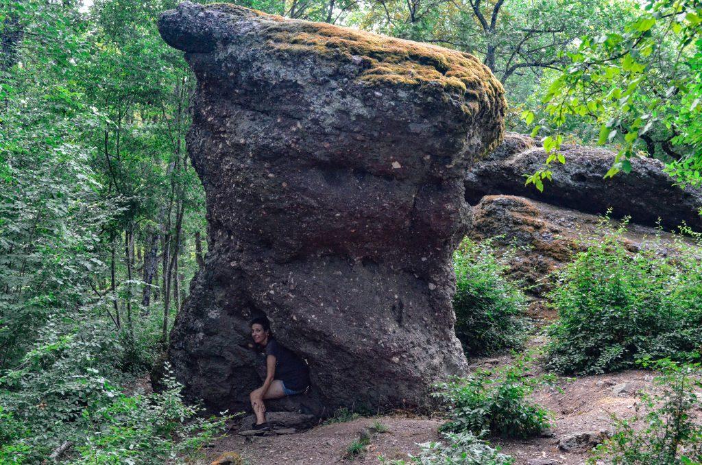 Забележителности в Странджа светилище Камъка скална гъба